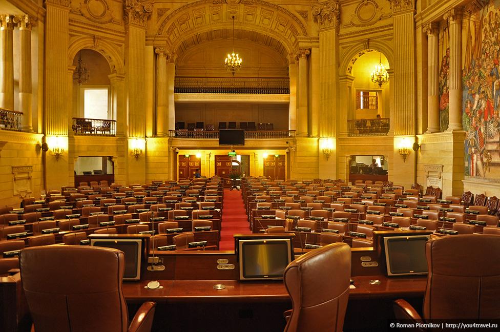 0 191999 78e15d43 orig День 209 211. Парламент Колумбии в Боготе, Национальный музей и Президентский Дворец