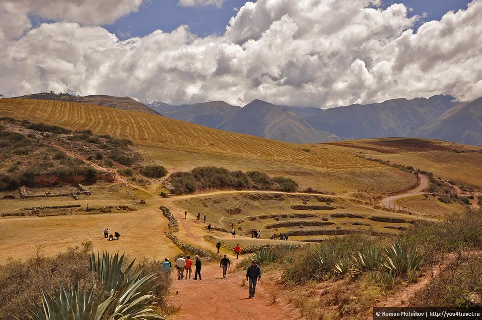 0 16a1f9 fac42b08 orig Морай и соляные копи Мараса недалеко от Куско в Перу