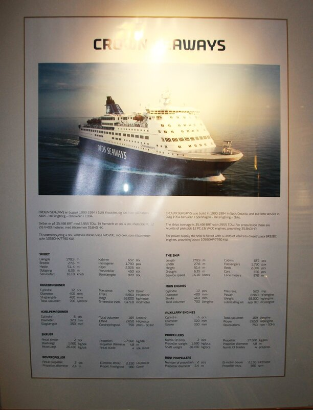 Паром DFDS Crown Seaways в Осло