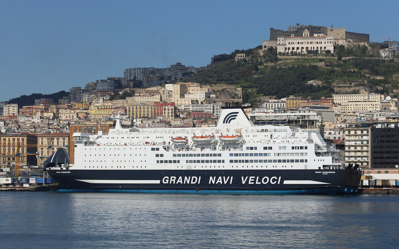 Sea port of Naples (Porto di Napoli)