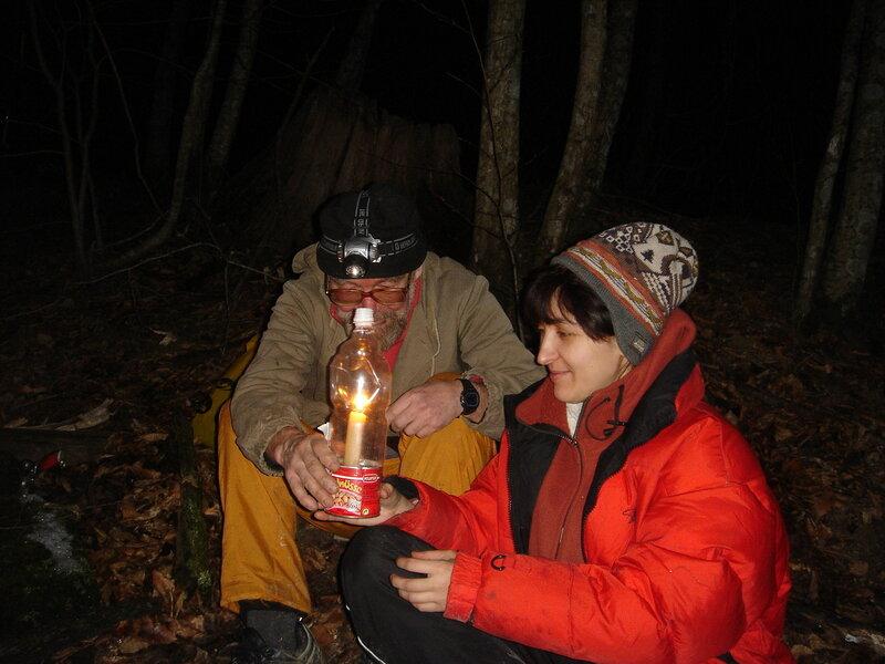 Лампа-незадувайка на свечах