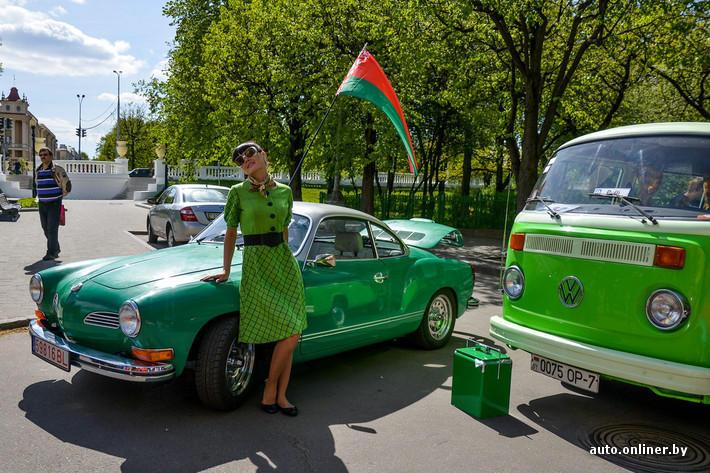 Ретропарад в седьмой раз собрал любителей автомобильной классики в Минске (100 фото)