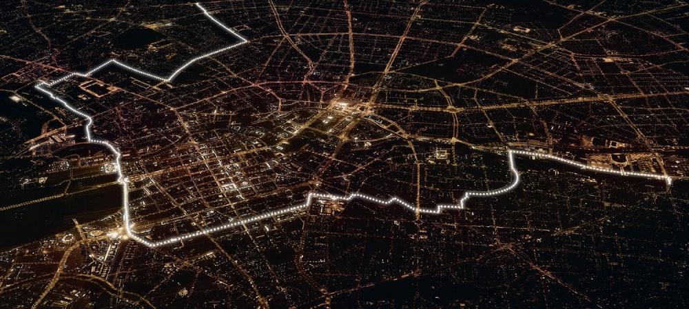 kulturprojekte-berlin Послучаю 25-й годовщины падения Берлинской стены столица Германии была вновь