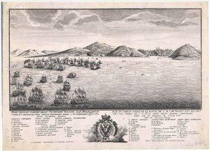 Чесменская битва в 1770 году.
