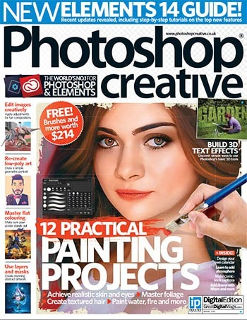 Книга Журнал: Photoshop Creative №133 (2015) [Eng]