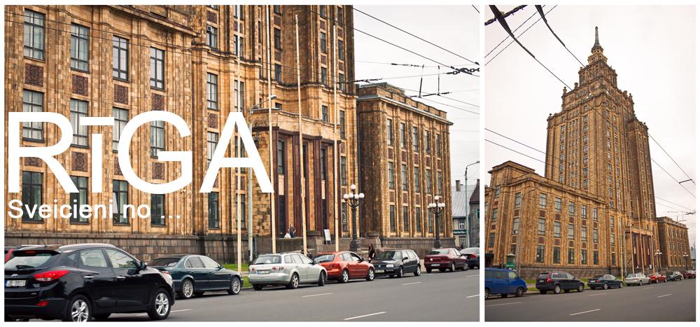 Сталинские высотки, Сталинская высотка в Риге, Академия наук в Риге