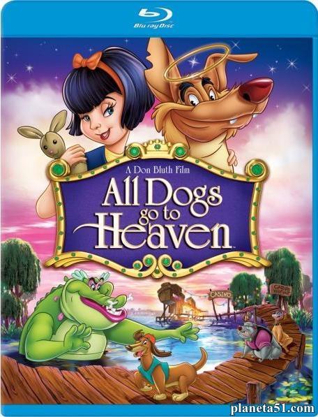 Все псы попадают в рай / All Dogs Go to Heaven (1989/HDRip)