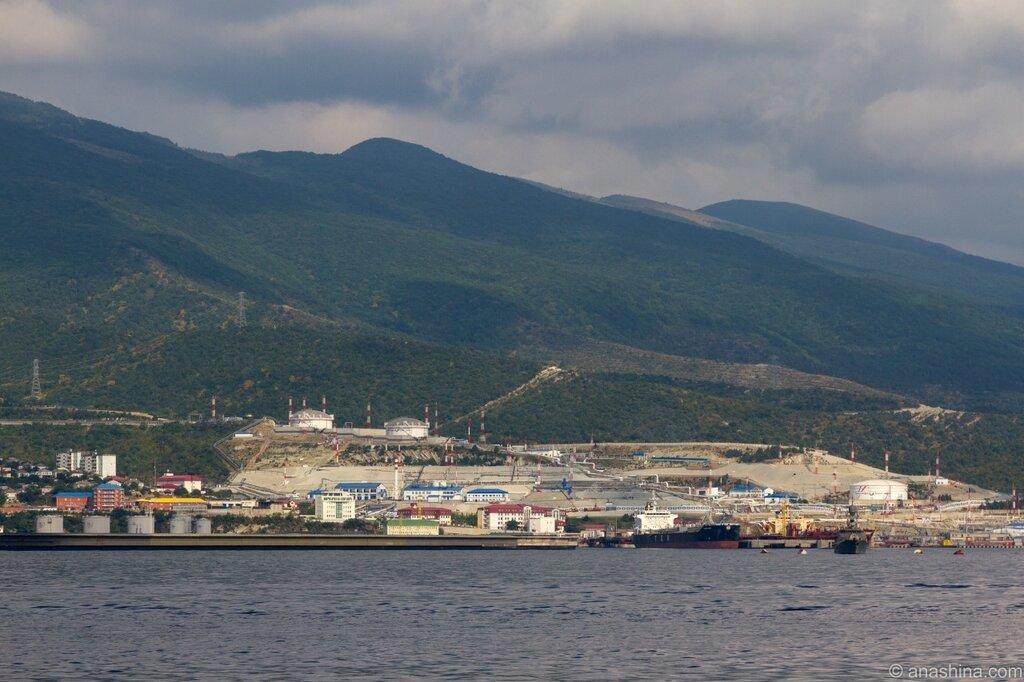 нефтебаза «Шесхарис», Новороссийск