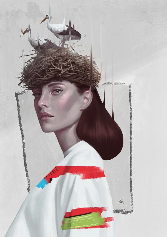 Animal Soul - The new conceptual illustrations of Aykut Aydogdu