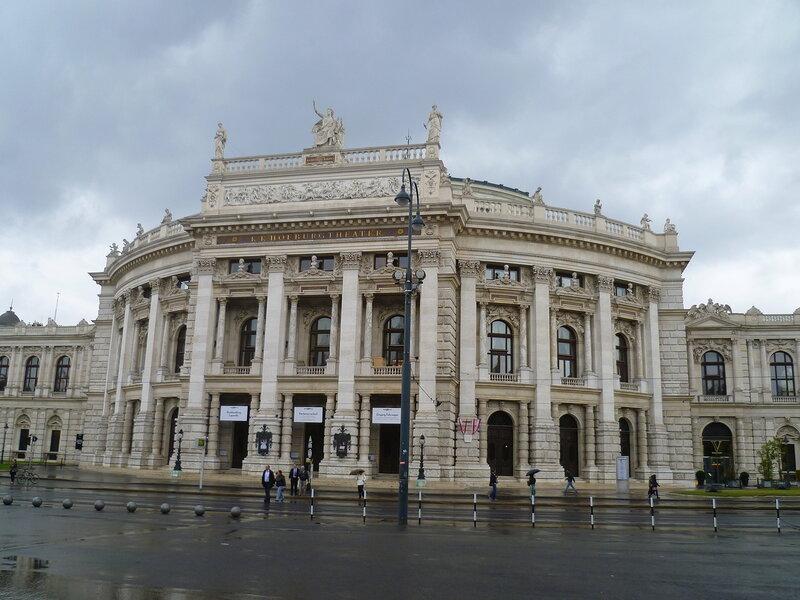 Вена, Бургтеатр (Vienna, Burgtheater)