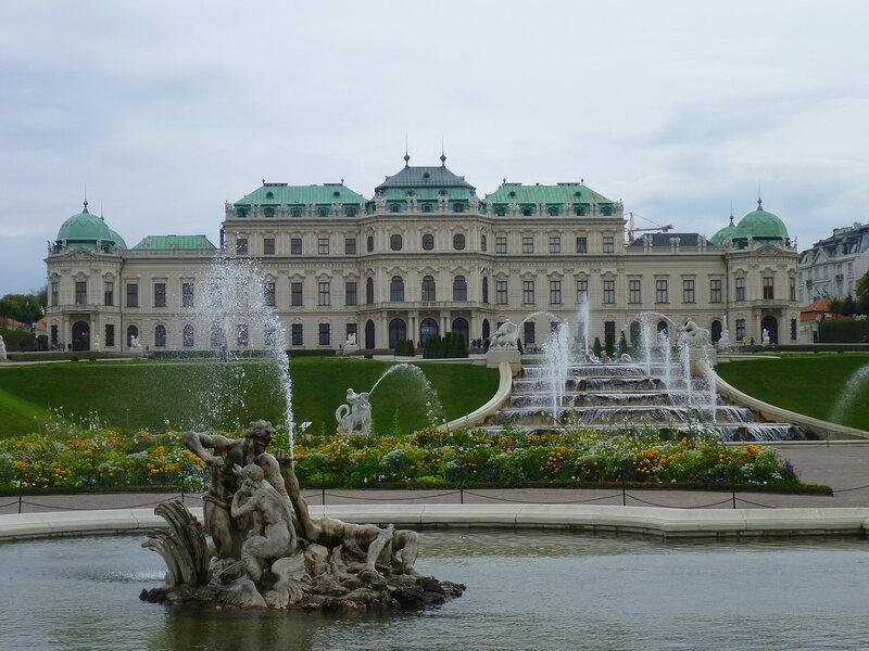 Вена, Бельведер (Vienna, Belvedere)