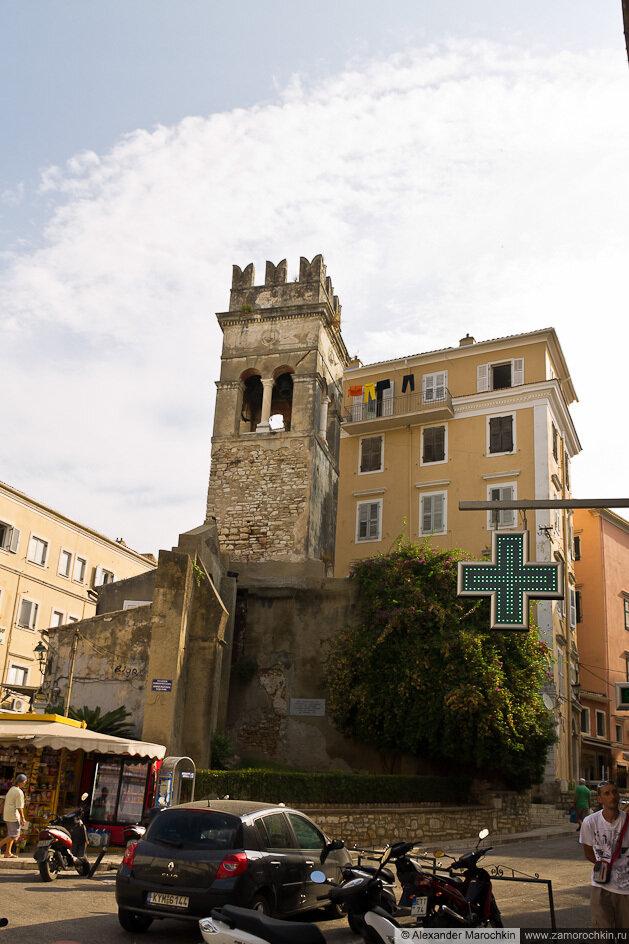 Старая башня в Керкире