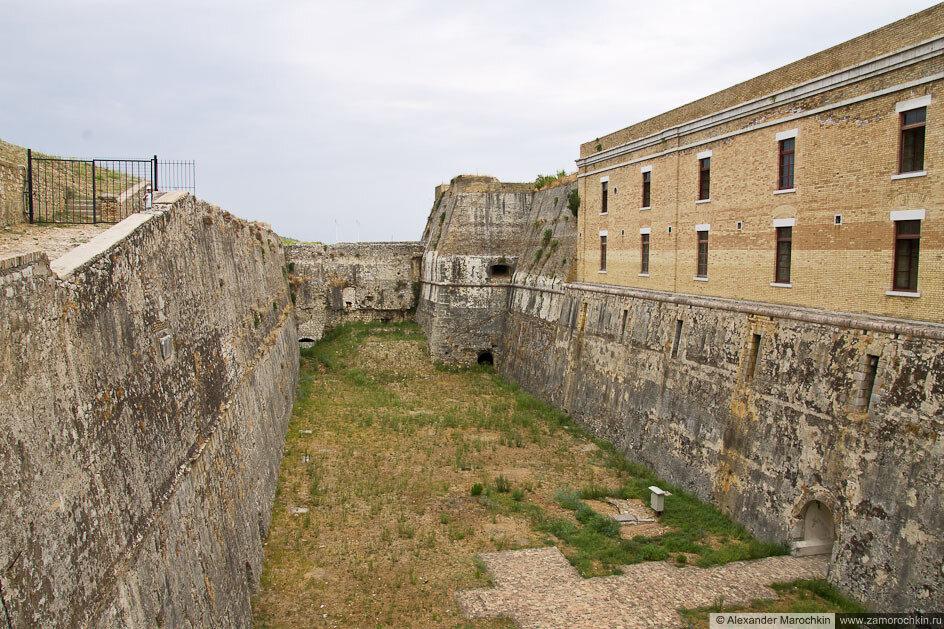 В Старой Крепости Керкиры (Корфу)