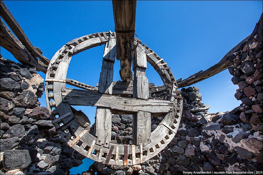 Мельницы Кикладских островов