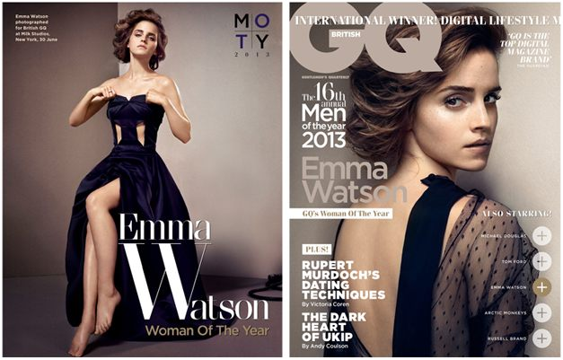 Женщина года Эмма Уотсон / Emma Watson - GQ UK october 2013