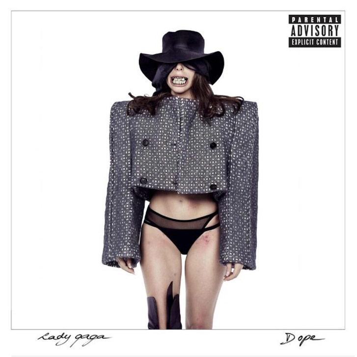 Lady Gaga - Dope single cover