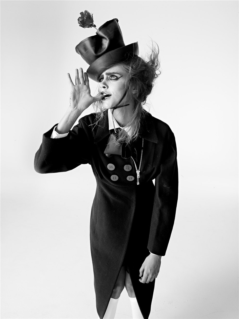 Кара Делевинь / Cara Delevingne by Richard Bush in I-D Magazine november 2013