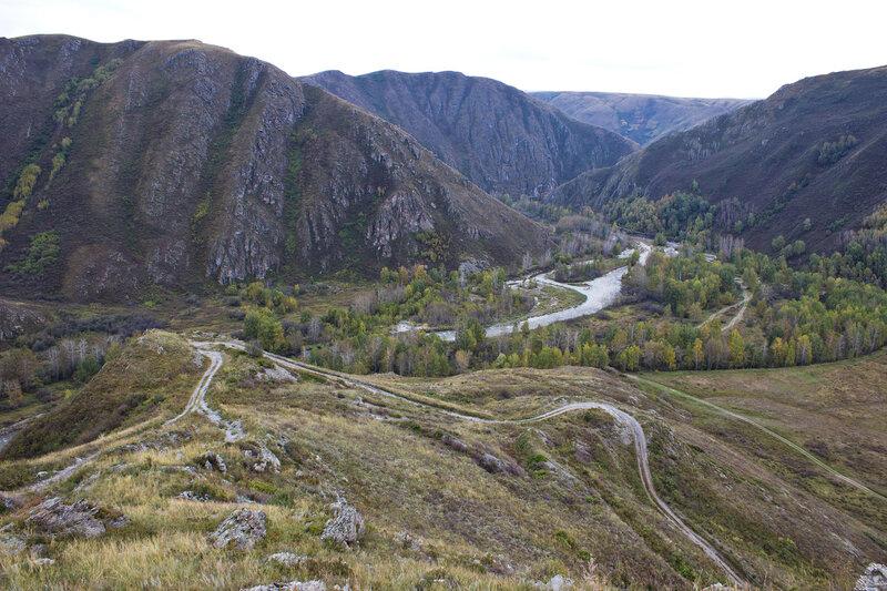 подъем на Нарымский хребет от Кумырзы