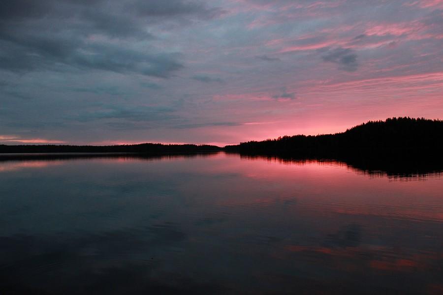Финляндия, путешествия, Oravasalmen Huvilat, Аксанова Ксения, финские закаты, природа, лепота,