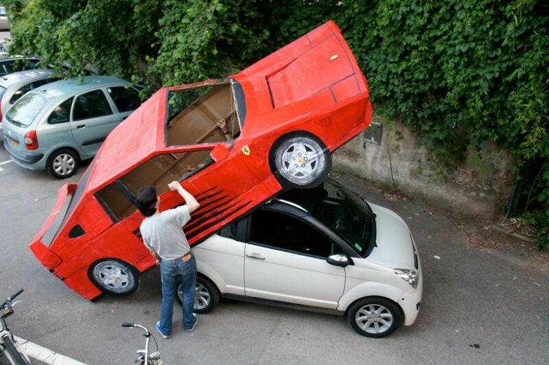 Как превратить дамскую машинку в мужской спорткар Ferrari