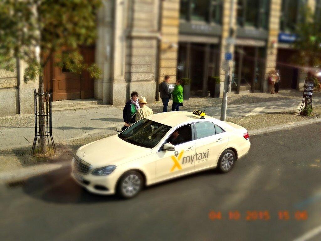 Почему нас не взяли в берлинское такси. Ответ.