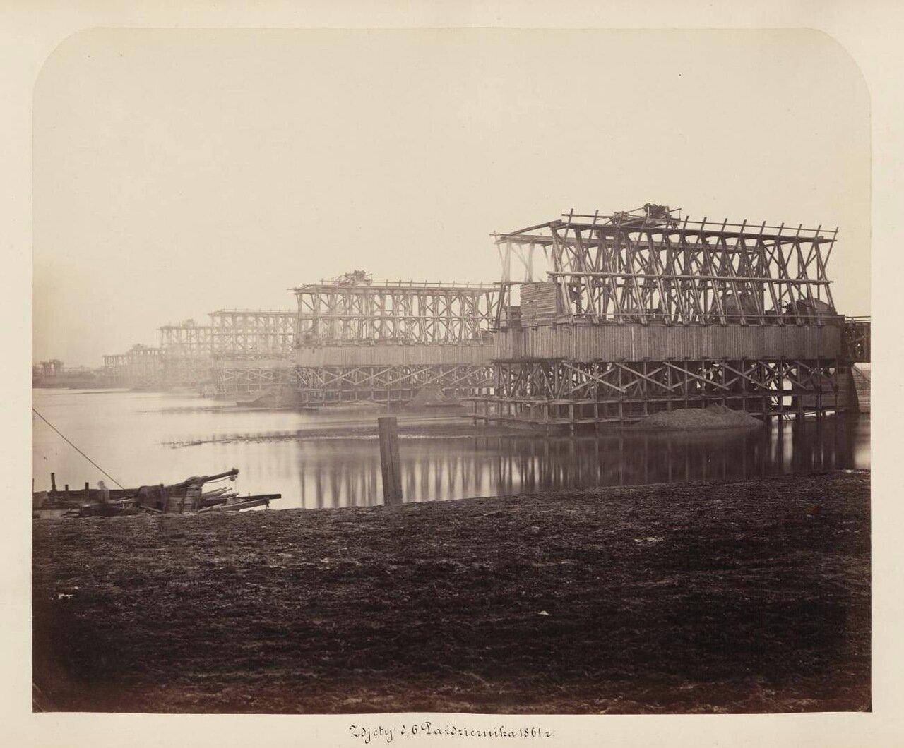Установка быков 1861