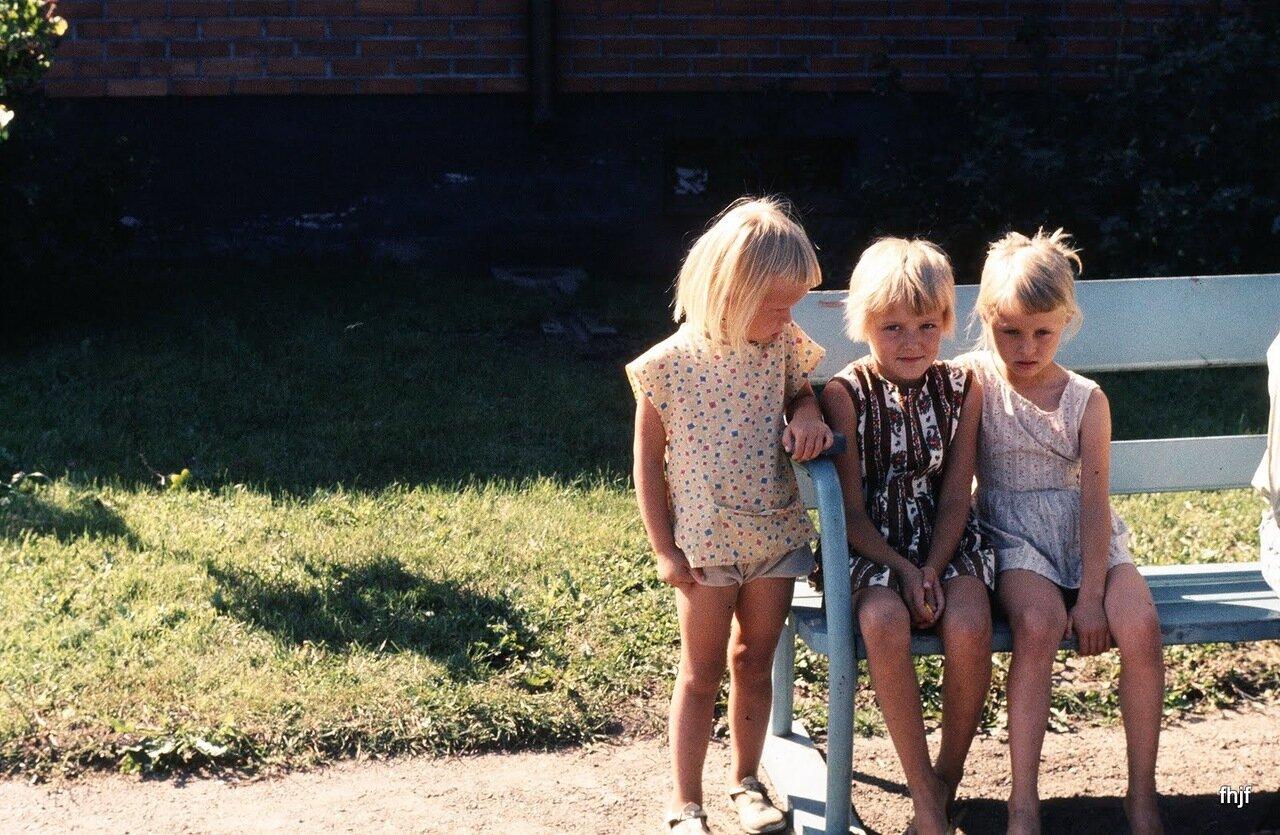 children in RR station