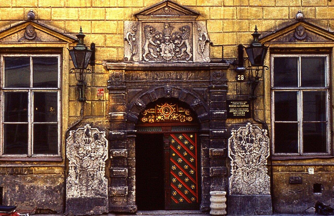 25. Дом Черноголовых. 1597