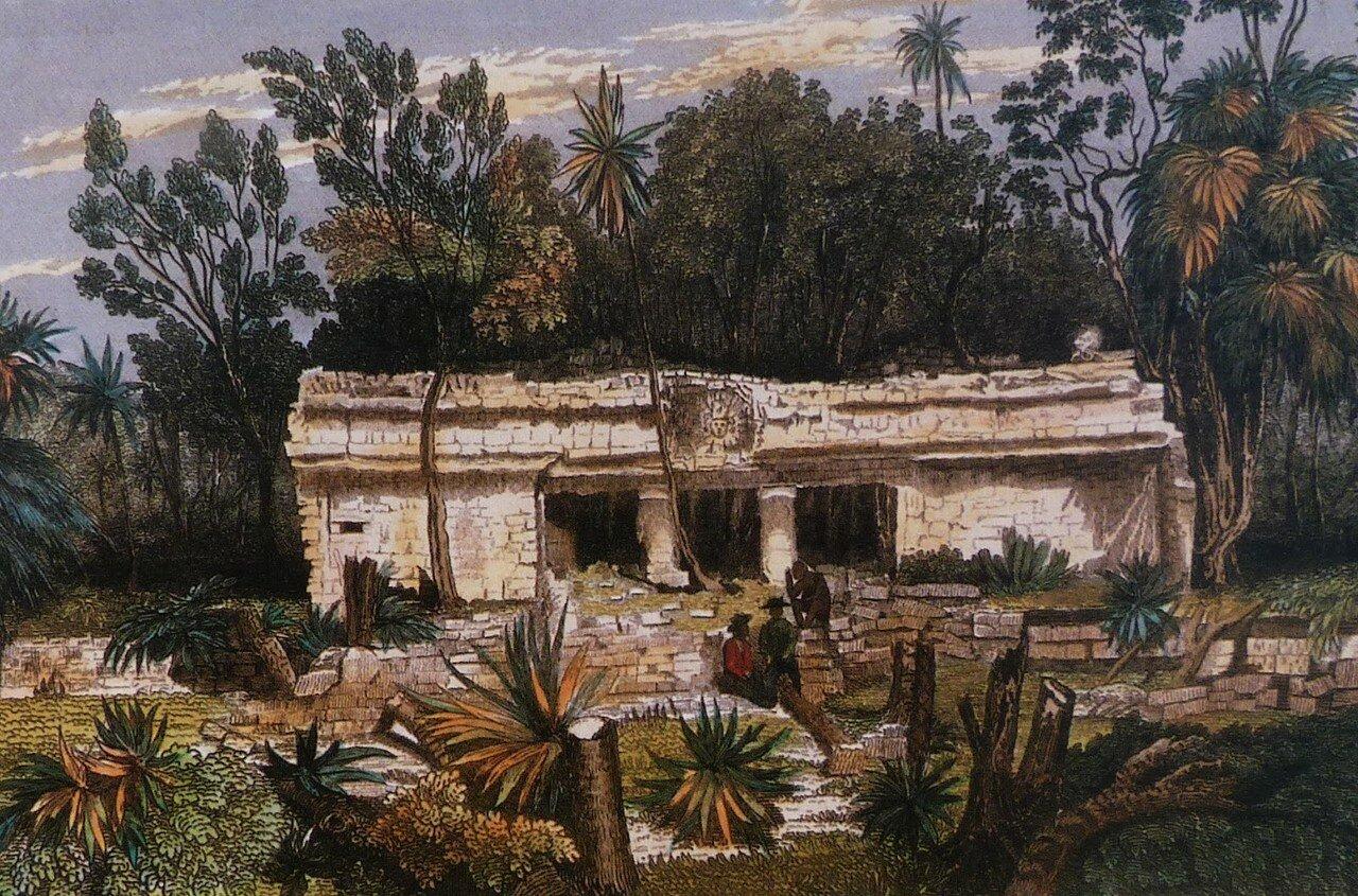 17. Тулум. Передняя часть храма