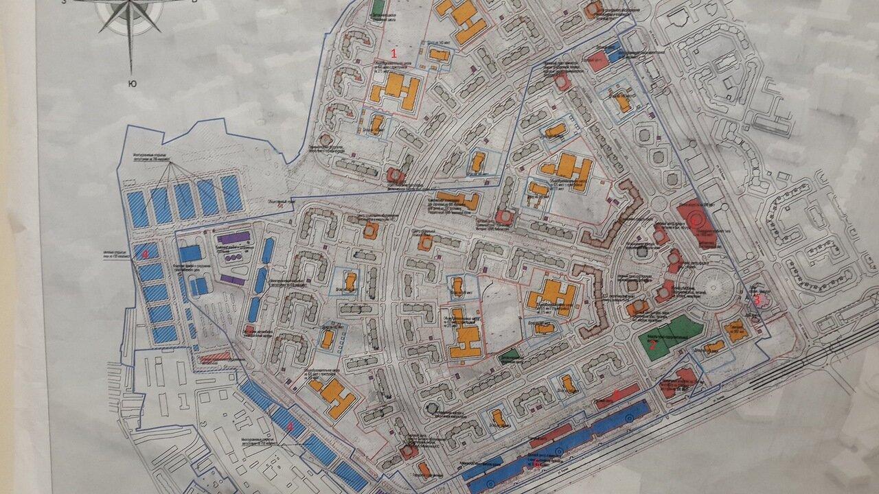 Схема микрорайона кузнечики подольск с номерами домов