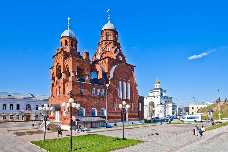 Троицкая церковь - Музей Хрусталя и лаковой миниатюры во Владимире