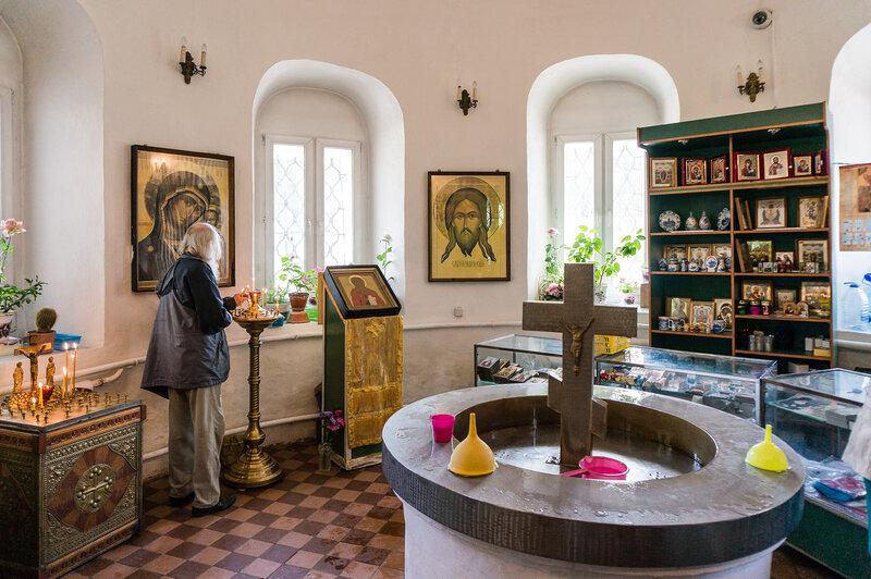 Святой источник в часовне св. Параскевы