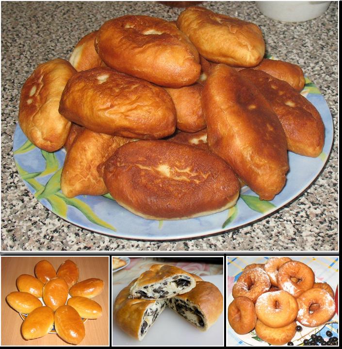 домашние дрожжевые пирожки фото рецепт