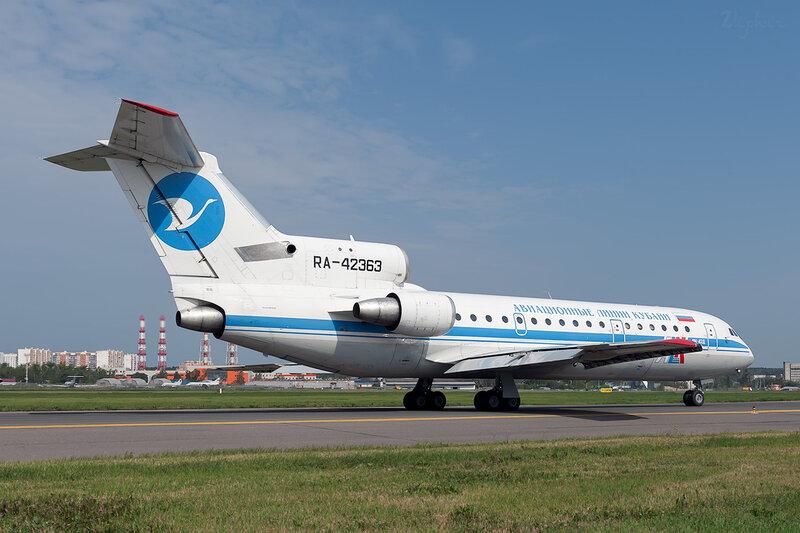 Яковлев Як-42Д (RA-42363) Авиационные Линии Кубани DSC_1484