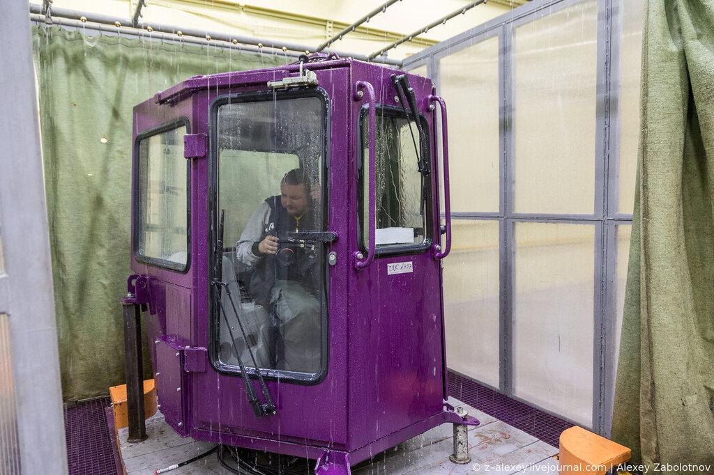 Проверка кабин на герметичность