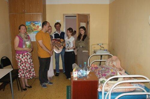 """Отчет о поездке в ПСУ """"Грибцово"""" и помощь многодетной семье"""