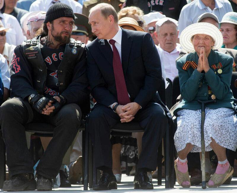 Фотожабы: Путин и Хирург