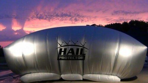 Воздушная подушка убережет автомобиль от града