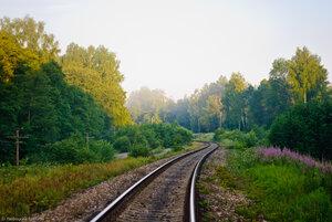 Перегон Угра - Волоста-Пятница, между ст. Угра и о.п. Дебрянский