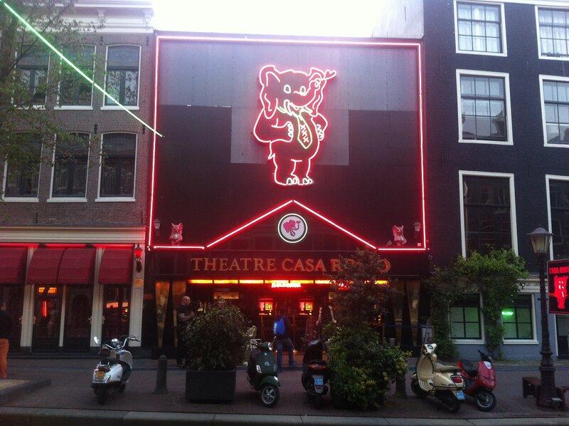Секс театры амстердам