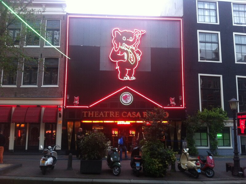 Порнуха амстердамская