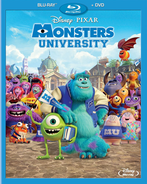 Университет монстров / Monsters University (2013) BD-Remux + BDRip 1080p [2D,3D] + 720p + HDRip
