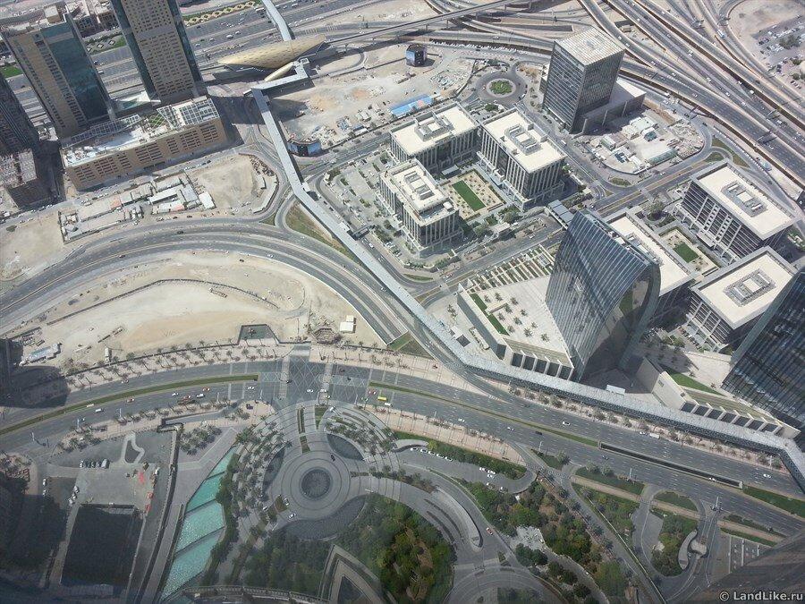 Станция метро Burj Khalifa Dubai Mall