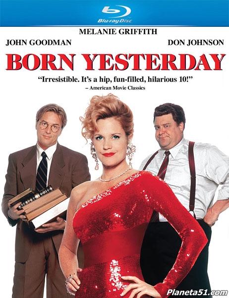 Уроки любви / Born Yesterday (1993/HDRip)