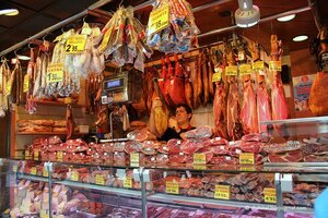 Барселона. Рынок Бокерия