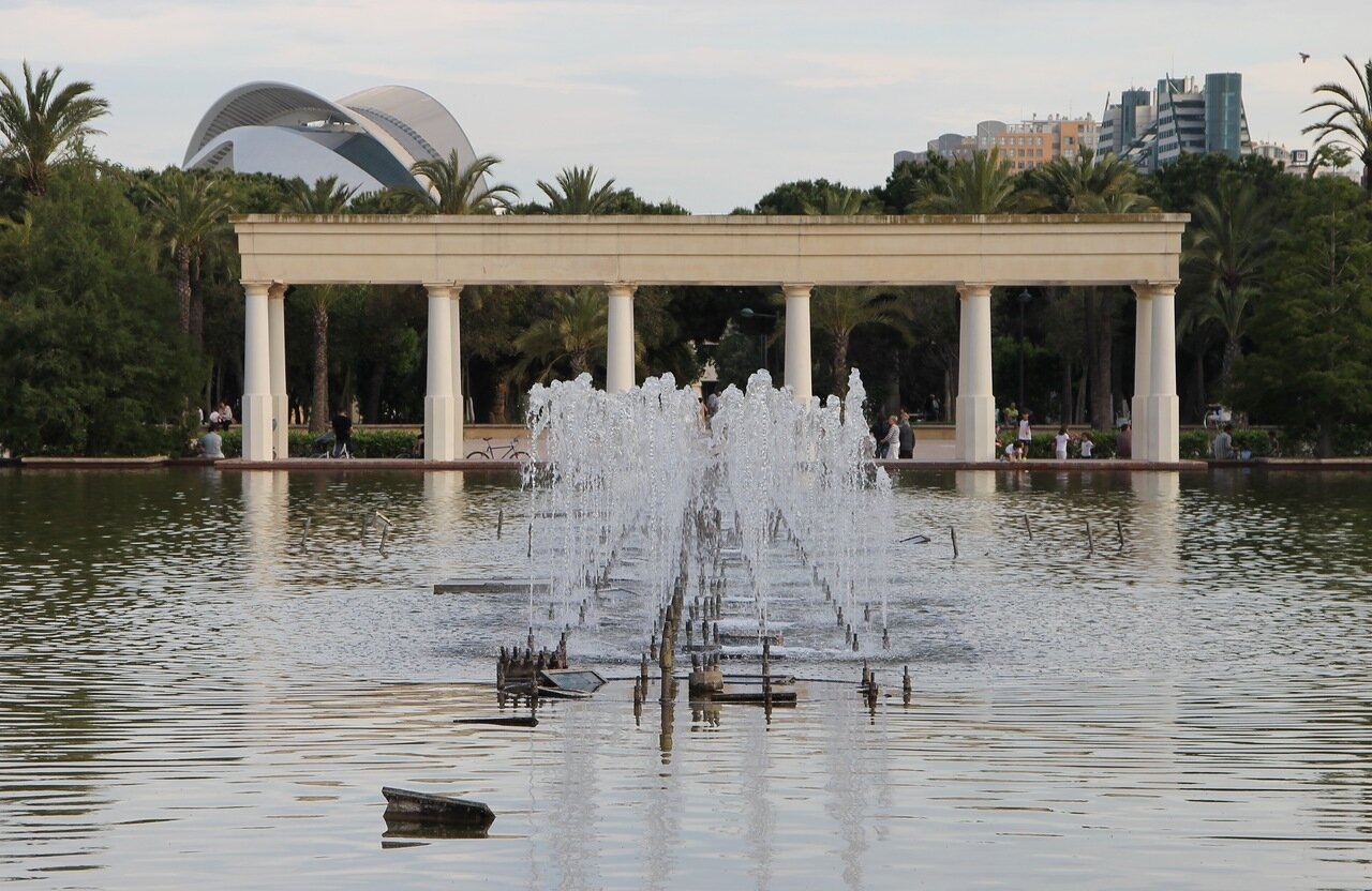 Valencia. The Turia Gardens