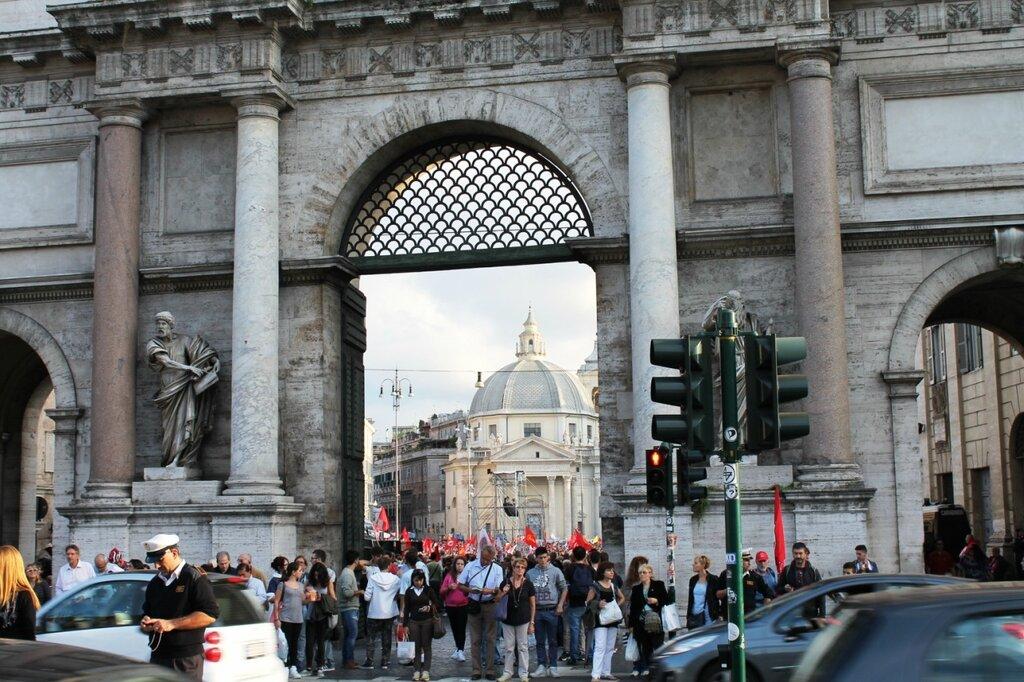 митинги и забастовки в Италии 2013