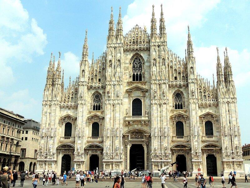 Дуомо. Милан и Турин