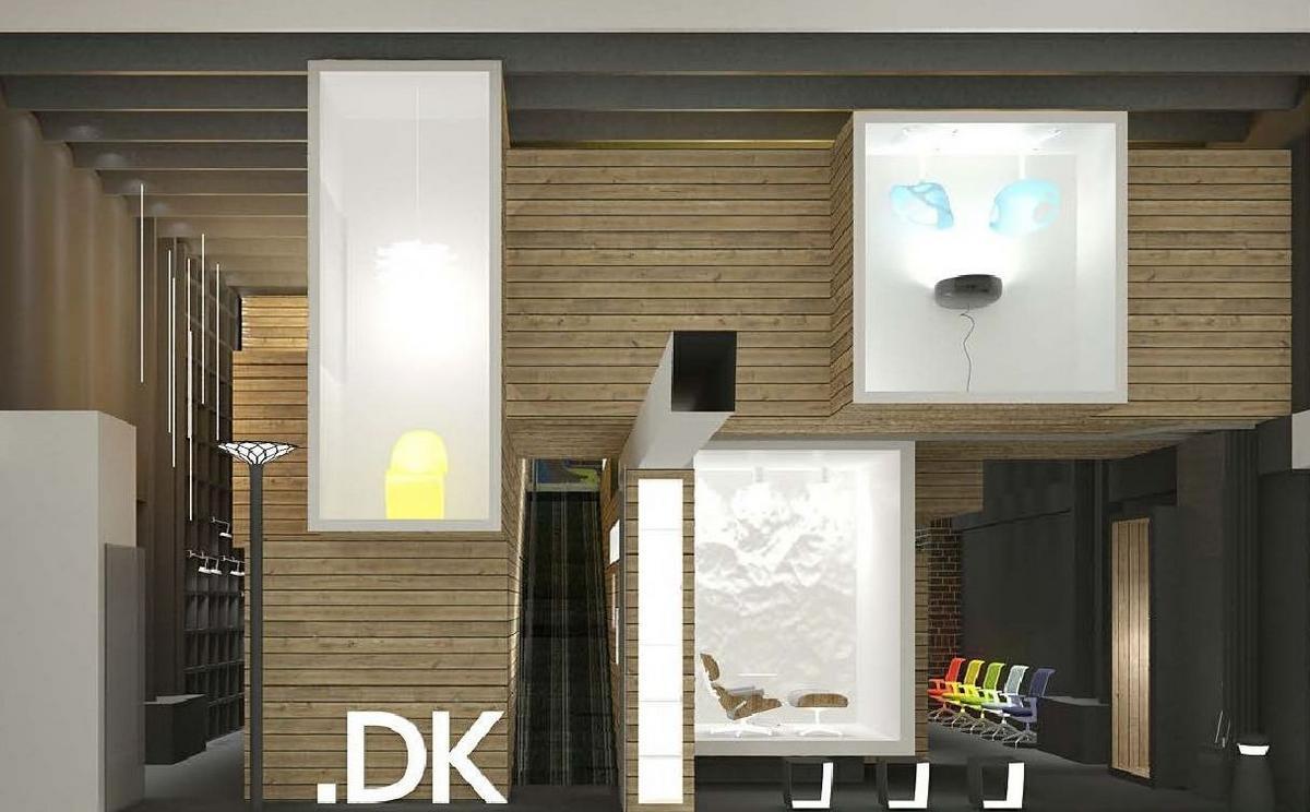 Megabudka, работы Megabudka, офис компании DK Project, необычный офис фото, лучшие офисы компаний, офисы в Центре Дизайна Artplay, шоурум DK Project