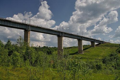 Веребьинский мост.
